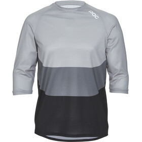 POC Essential Enduro 3/4 Light Jersey Men francium multi grey